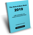 The Date-A-Base Book 2019
